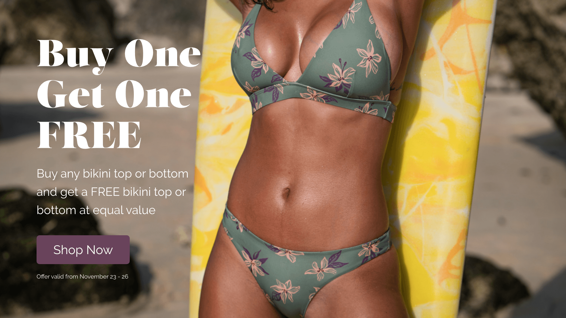 Makena BOGO Bikinis